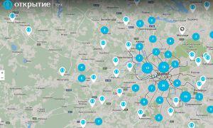 Карта банкоматов Рокетбанк